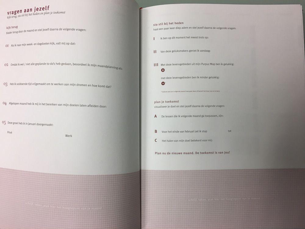 Purpuz Planner Review Twijfelmoeder