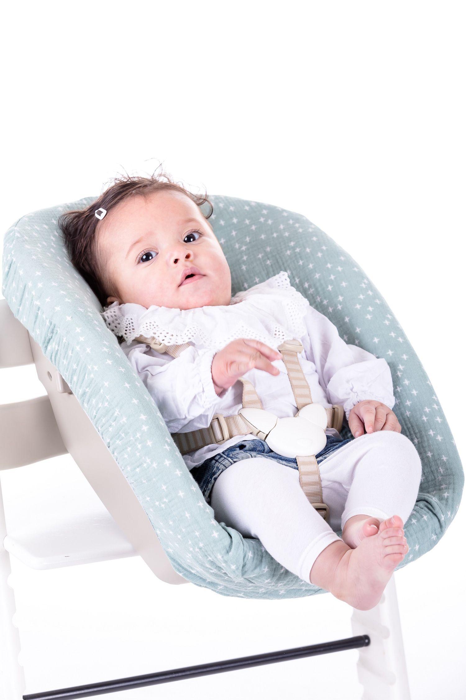 Newborn hoes Zacht mint plusje voor Stokke stoelverkleiner - ukje.nl