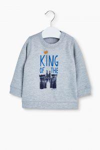 King of the castle trui grijs voor baby boy van Esprit