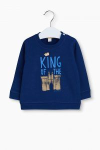 Esprit King of the castle trui blauw baby boy